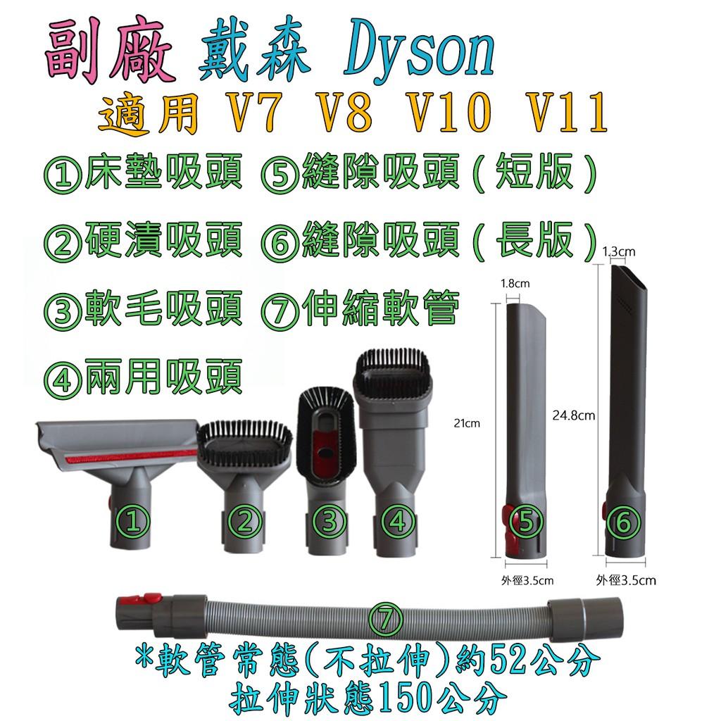 【副廠】戴森 dyson V7 V8 V10  V11 Digital Slim SV18 狹縫吸頭 吸塵器配件
