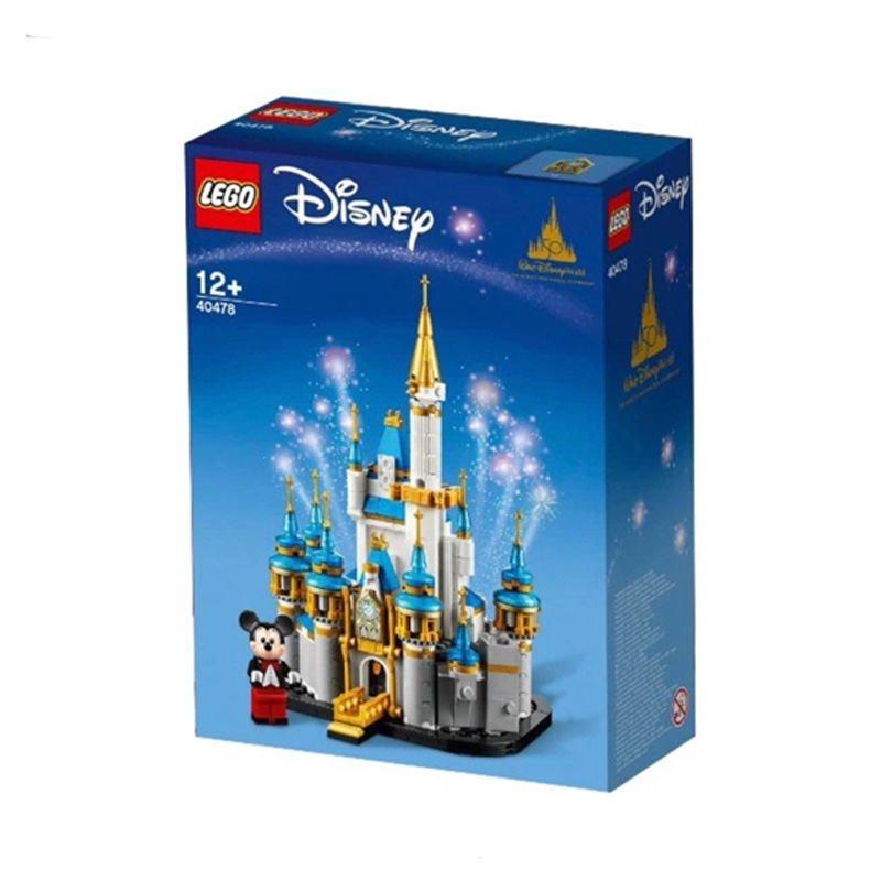 限時下殺 【正品保障】樂高(LEGO)積木迪士尼拼裝玩具40478迷你迪士尼城堡【10月15日發完】 現貨下殺 ONv6