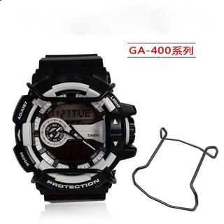 卡西歐 G-Shock 保險杠 Ga-700 /  100 /  800 /  400 手錶配件保護桿銀黑金的手錶配件 8be
