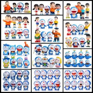哆啦A夢 叮噹貓 (全集)大雄一家 汽車擺件 Doraemon 小叮噹 野比大雄 源靜香 胖虎 小夫(配3M底膠)