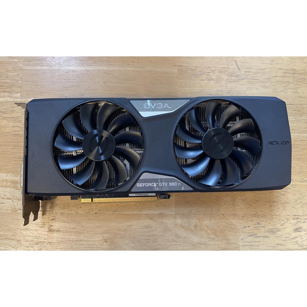 現貨 NVIDIA GTX 980Ti 6GB EVGA 顯卡 非礦卡
