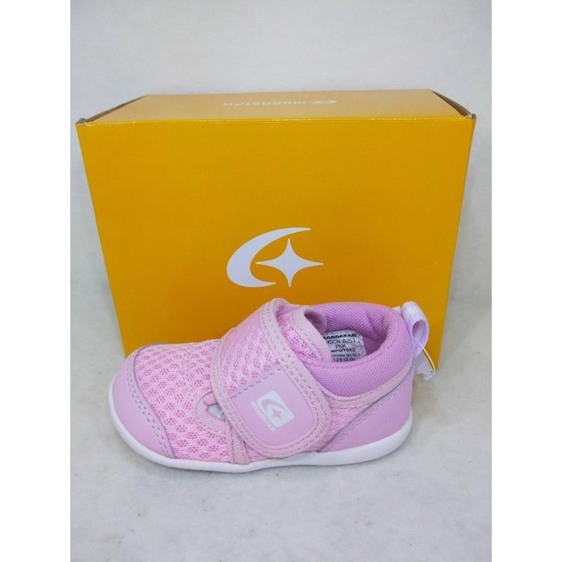 JB~Moonstar 月星 HI系列 日本機能鞋 小童 護趾涼鞋 速乾 NO.K9624粉紅