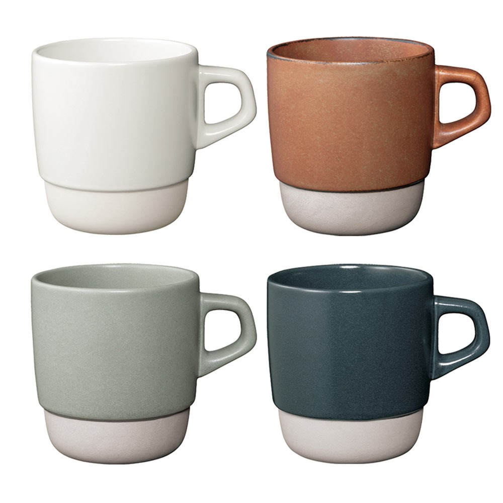 【日本KINTO】SCS可堆疊式馬克杯 共4色《WUZ屋子》咖啡杯 茶杯 瓷杯 牛奶杯 下午茶 聚會