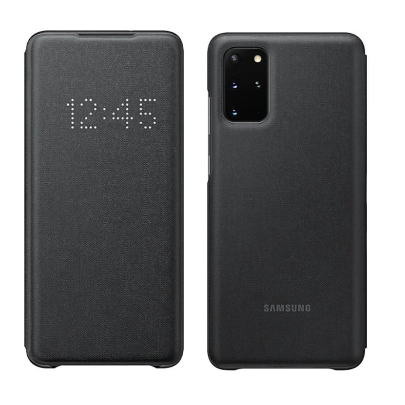 Galaxy S20+ 5G LED皮革翻頁式皮套(公司貨)