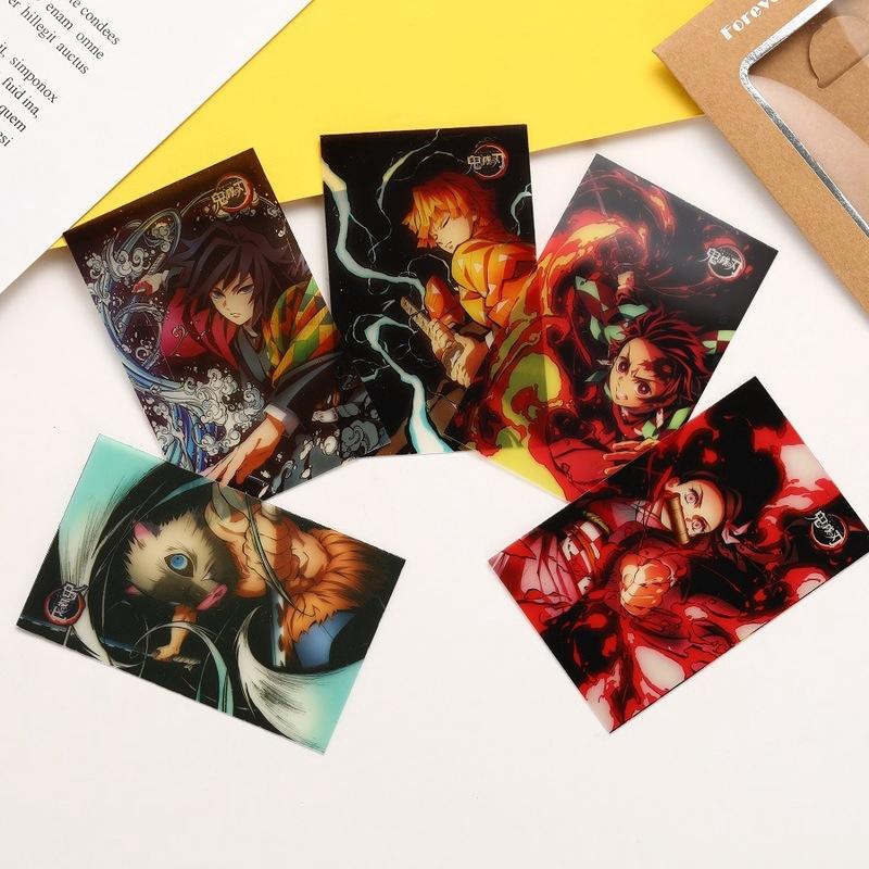 💖sunshine💖(9款)鬼滅之刃卡片透明卡片 炭治郎禰豆子 PVC照片卡 鬼滅收藏照片透卡 禮物