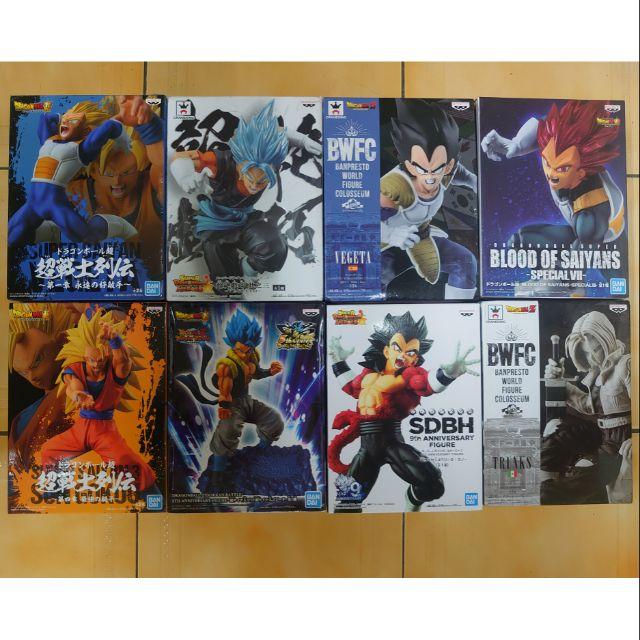 七龍珠金證達爾超戰士列傳超絕戲巧其之三貝吉塔紅髮超3悟空藍髮悟吉塔自在極易超4異色特南克斯賽亞人正版寬盒公仔