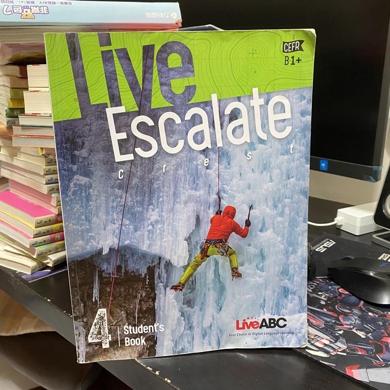 【二手 課本】Live Escalate 4 Live ABC