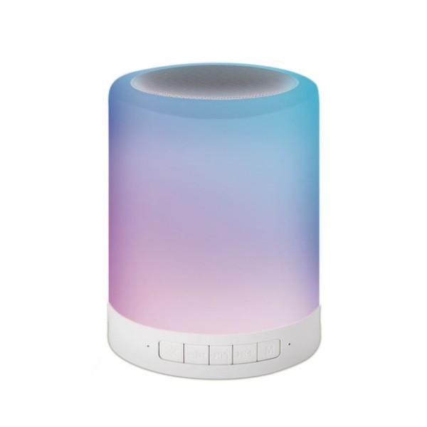 E-books D14 藍牙LED觸控式夜燈喇叭(現貨)