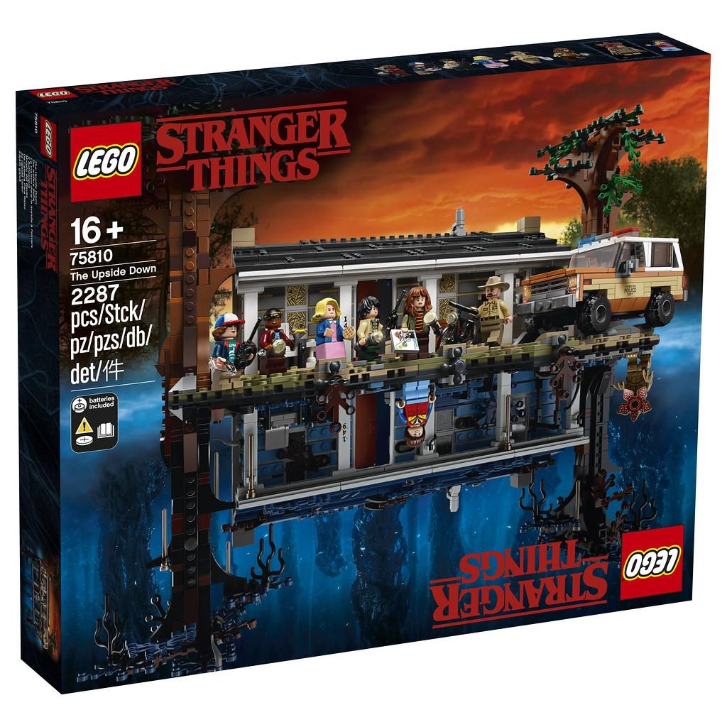 LEGO 樂高 75810 怪奇物語 顛倒世界 Stranger Things The Upside Down