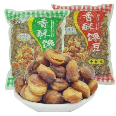 酥香園蠶豆蘭花豆零食下酒菜香酥饞豆豆類堅果4斤散裝小包裝