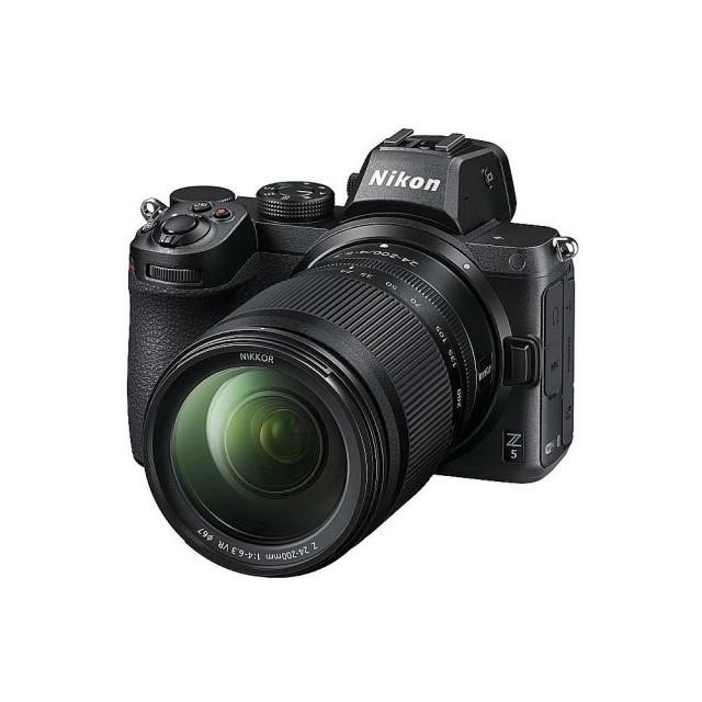 【Nikon】Z5 + NIKKOR Z 24-200MM F / 4-6.3 VR 旅遊鏡組 (公司貨)