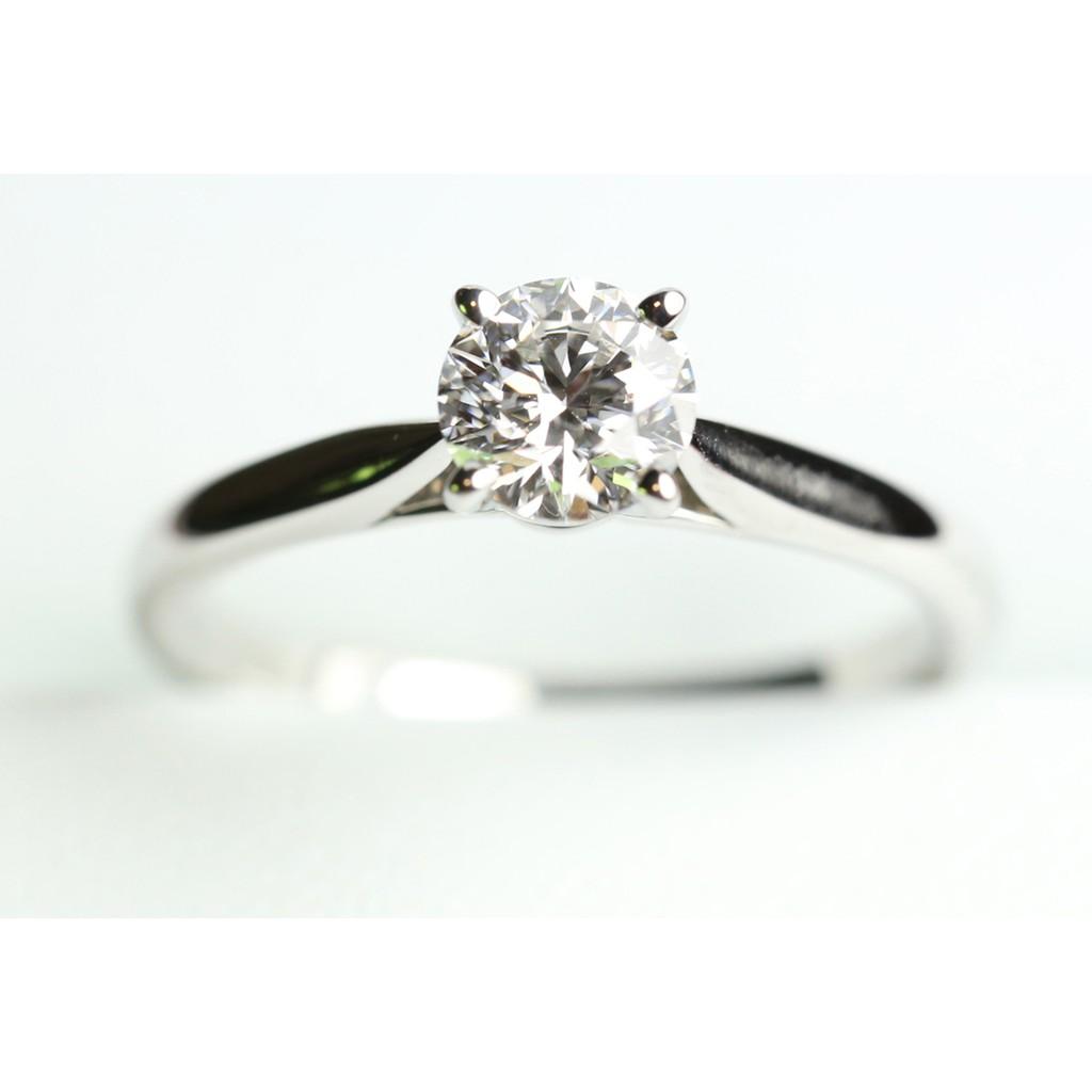 Cartier FVS2 0.44克拉 1895婚戒