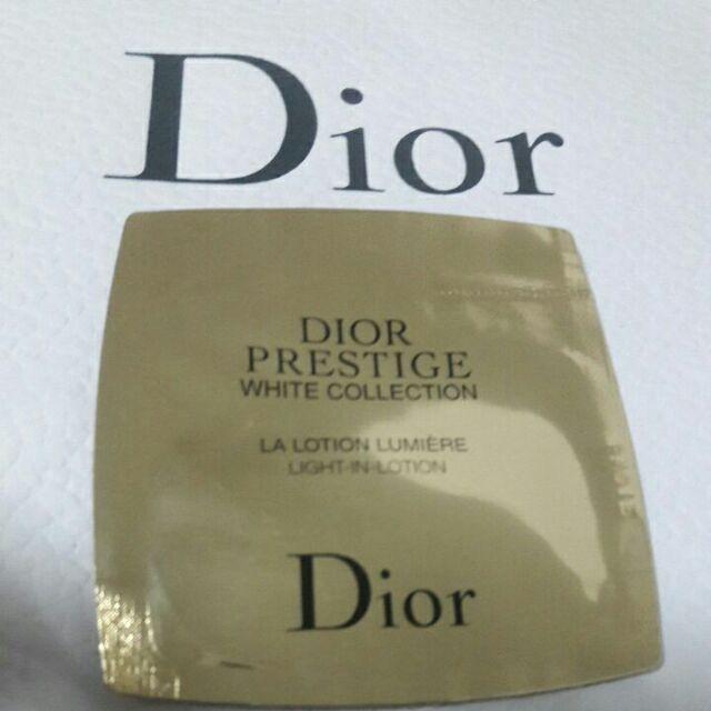 💋全新Dior專櫃正品🌟迪奧 精萃再生淨白化妝水1ml✔試用包