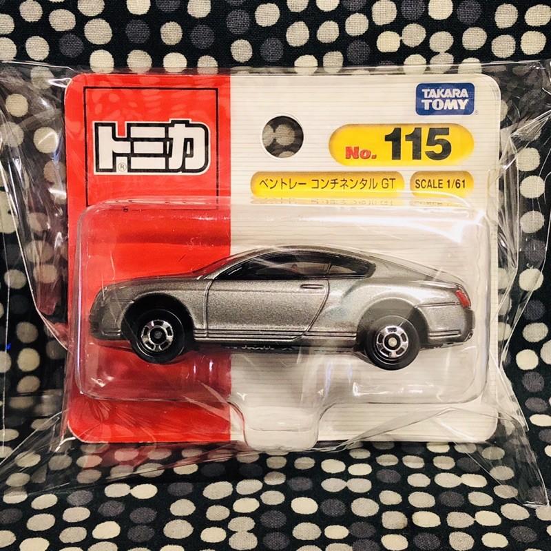 🍒 tomica 115 Bentley GT 絕版 賓利 ‼️全新未拆封的現貨‼️ 吊卡版