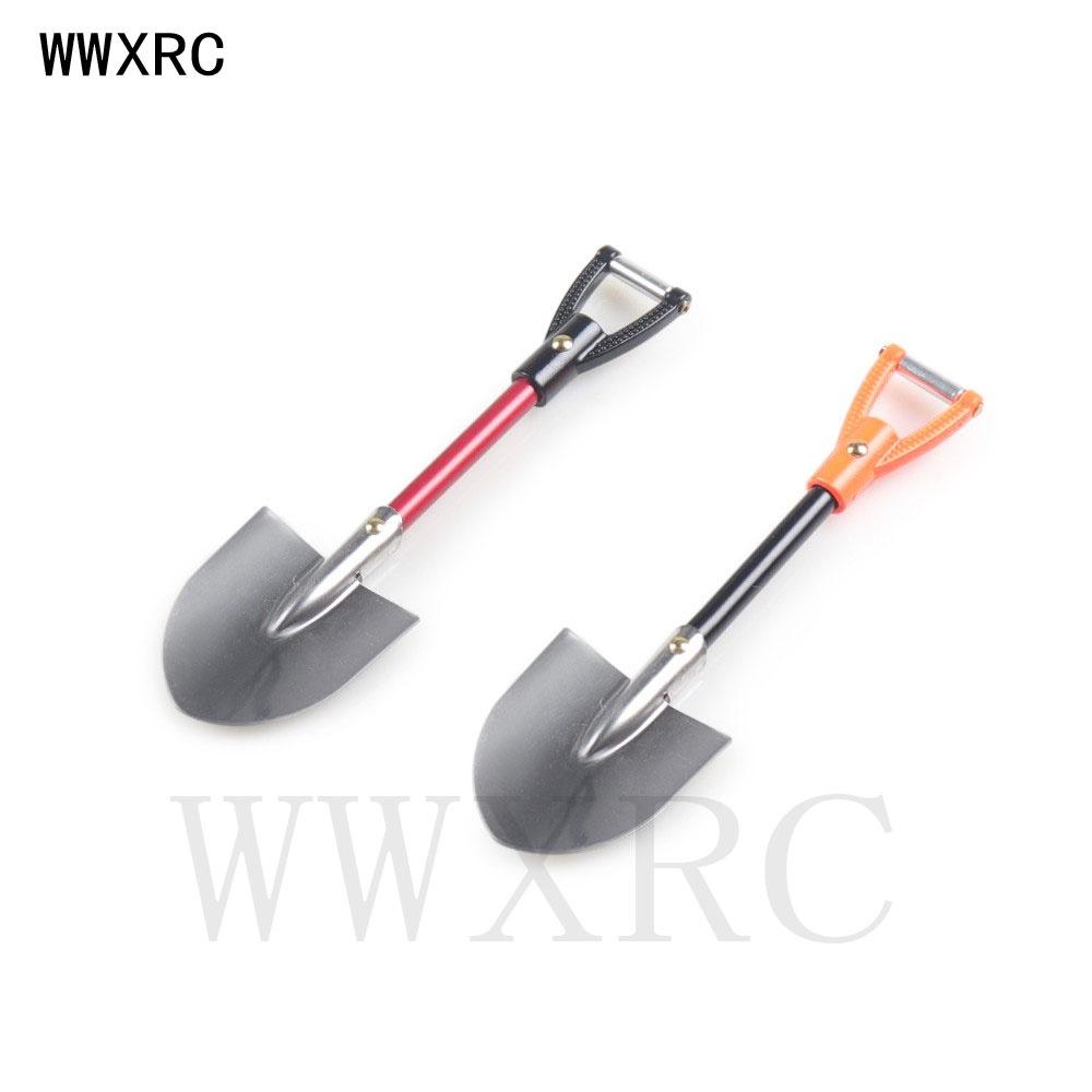 1:10比例配件金屬鏟用於1/10遙控攀爬车SCX10 Traxxas TRX4 D90 D110 TF2 Tamiya