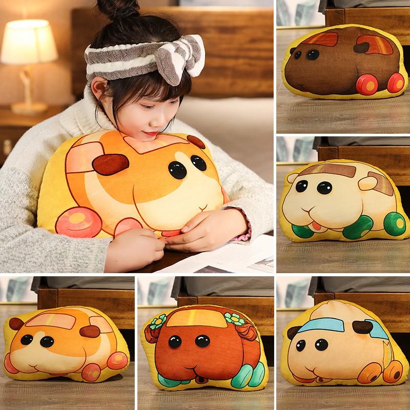 天竺鼠車車 抱枕 日本卡通 天竺鼠 抱枕 車車 汽車 抱枕