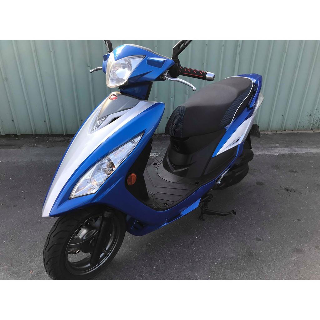 【幽浮二手機車】KYMCO G6E 125 藍色 2012年【999元牽車專案開跑 】