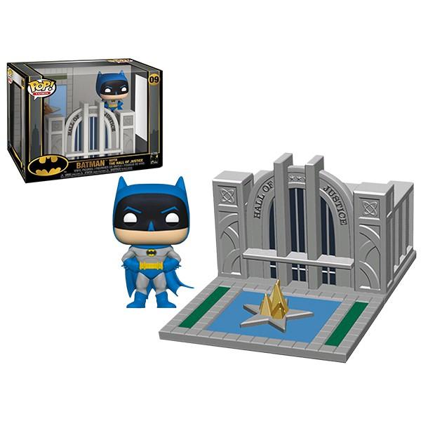 [Paradise] Funko POP! Batman 蝙蝠俠80周年紀念 POP!場景套組 - 蝙蝠俠 與 正義大廳