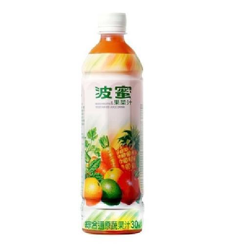 波蜜 果菜汁(580mlX4瓶/組)[大買家]