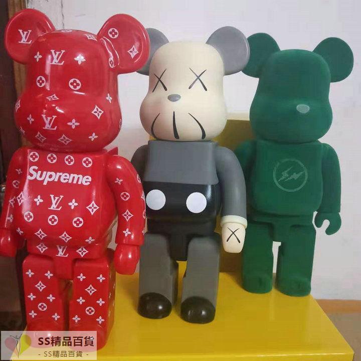 【SS精品百貨】supreme大號28CM暴力熊潮流擺件DC暴力熊漫威暴力熊迪士尼暴力熊
