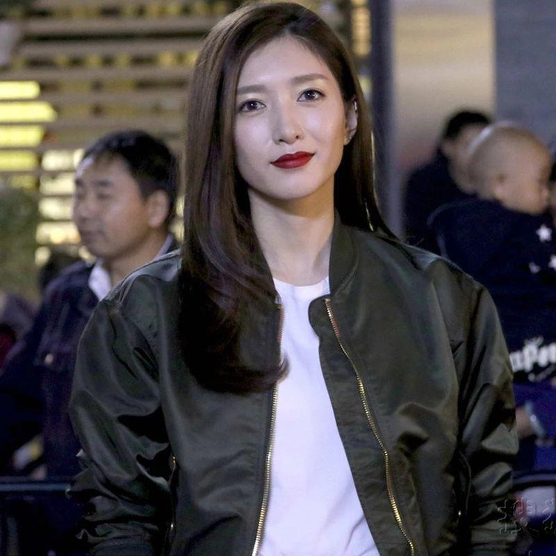 工裝外套ins春秋冬季韓版寬松明星同款棒球服短款女士媽媽外套女