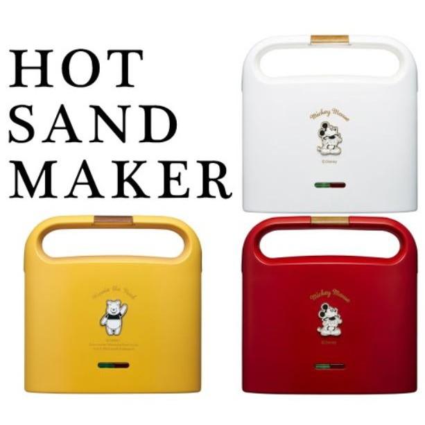 確定款式 有無現貨 DOSHISHA 合作 迪士尼 Disney 米奇 小熊維尼三明治機 烤吐司機 熱壓吐司