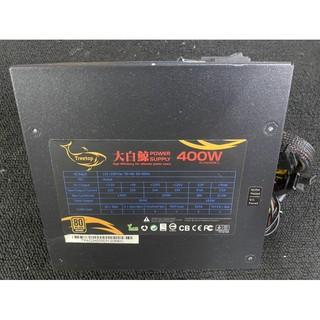 二手良品 樹昌 Treetop 大白鯨 400/ 400W/ 80 Plus/ 電源供應器/ Power/ 個人保固3天~ 雲林縣