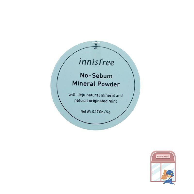 【Innisfree】礦物質控油蜜粉 (5g) | HelpBuyKr商城旗艦館