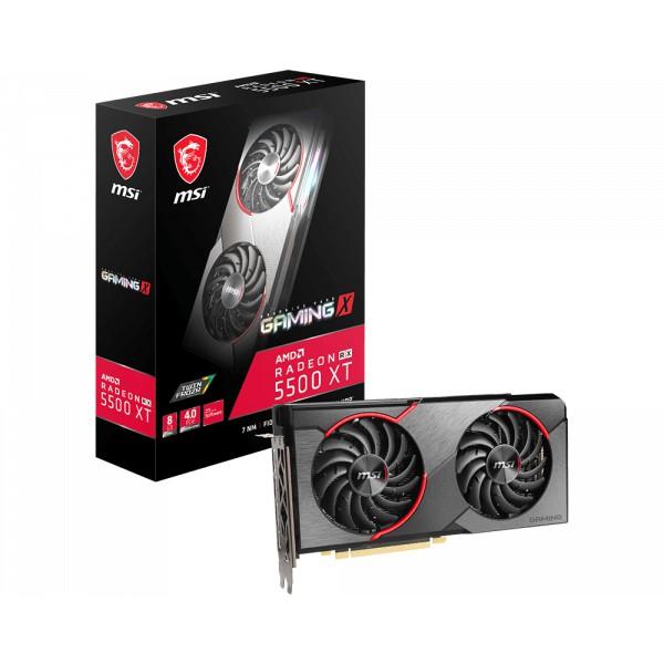 【鈺盛】MSI 微星 Radeon RX 5500 XT GAMING X 8G 顯示卡