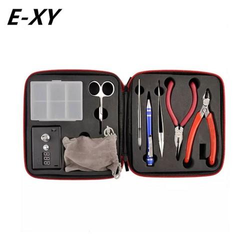 E-XY 第一代工具包套裝 工具組 (含歐姆機 捲線神器 斜口鉗 尖嘴鉗 彎頭夾 陶瓷鎳子)