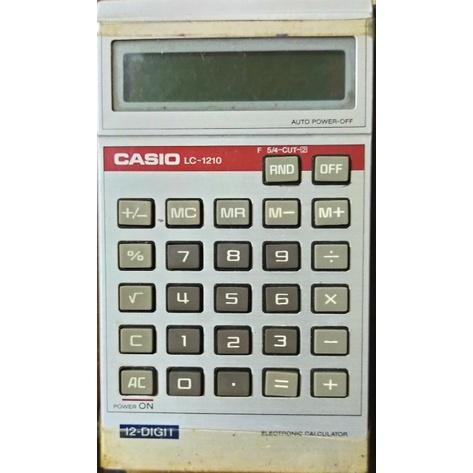 早期懷舊 CASIO計算機