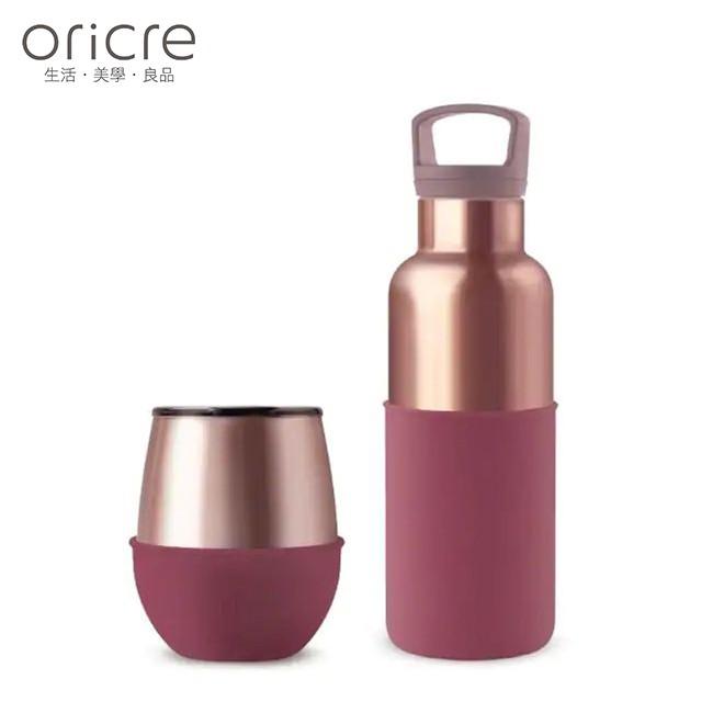 【美國HYDY】時尚保溫杯瓶組 (蛋型杯+水瓶二入組)