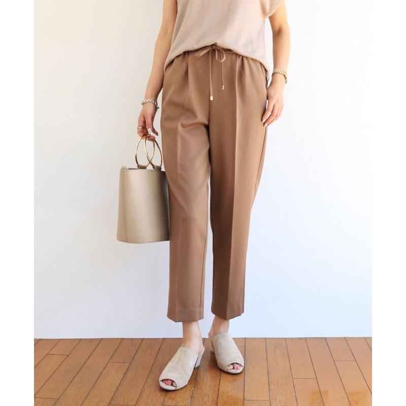 YABBI 轉賣  Alma Design金屬裝飾抽繩綁帶老爺褲