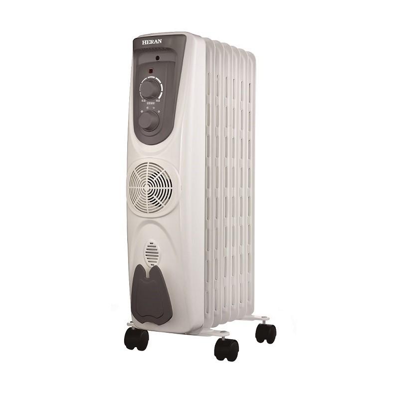 【福利品】HERAN禾聯 葉片式電暖器7片式 HOH-15M07