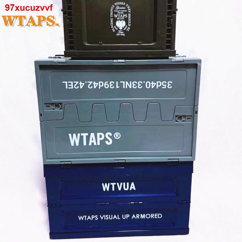 【快乐满屋】WTAPS潮牌折疊收納箱 軍事風機能儲物箱 車載家用衣服鞋子整理盒