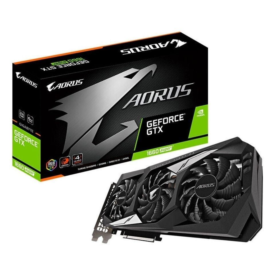 顯卡 電腦顯示卡 獨立顯卡 技嘉RTX2060 OC 6G/1660 SUPER GAMING OC 6G臺式機顯卡 遊