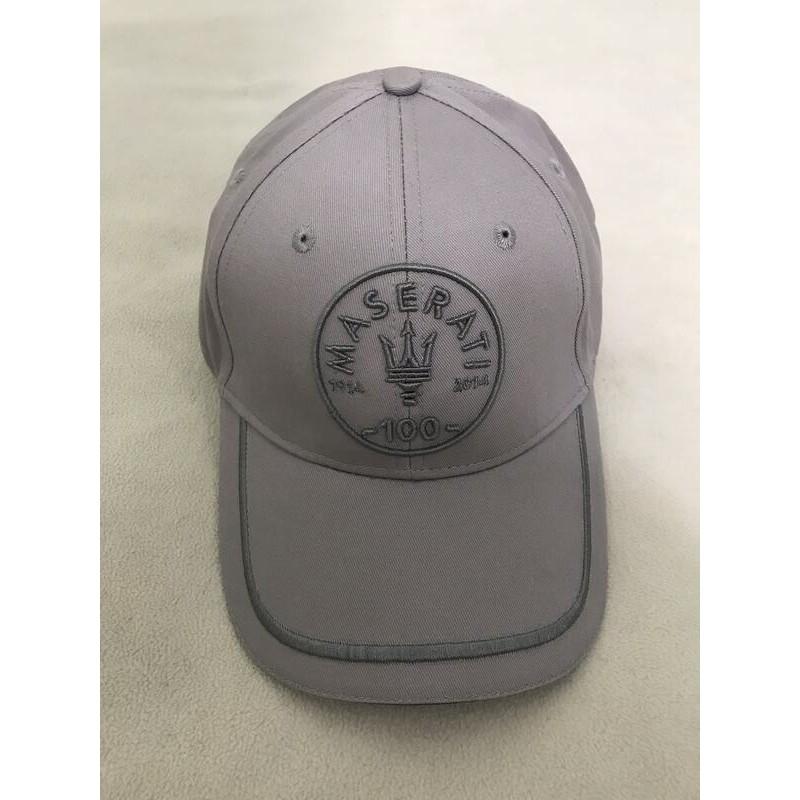 【HT台灣】現貨 瑪莎拉蒂 MASERATI 正原廠 義大利 百年紀念 100週年紀念 賽車帽 鴨舌帽 棒球帽 帽子 灰