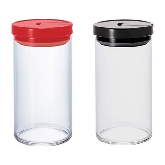 ☆零八五七☆ 日本 HARIO 咖啡豆 食物 收納 保鮮 耐熱 玻璃 密封罐 1000ml 食物罐 糖果罐