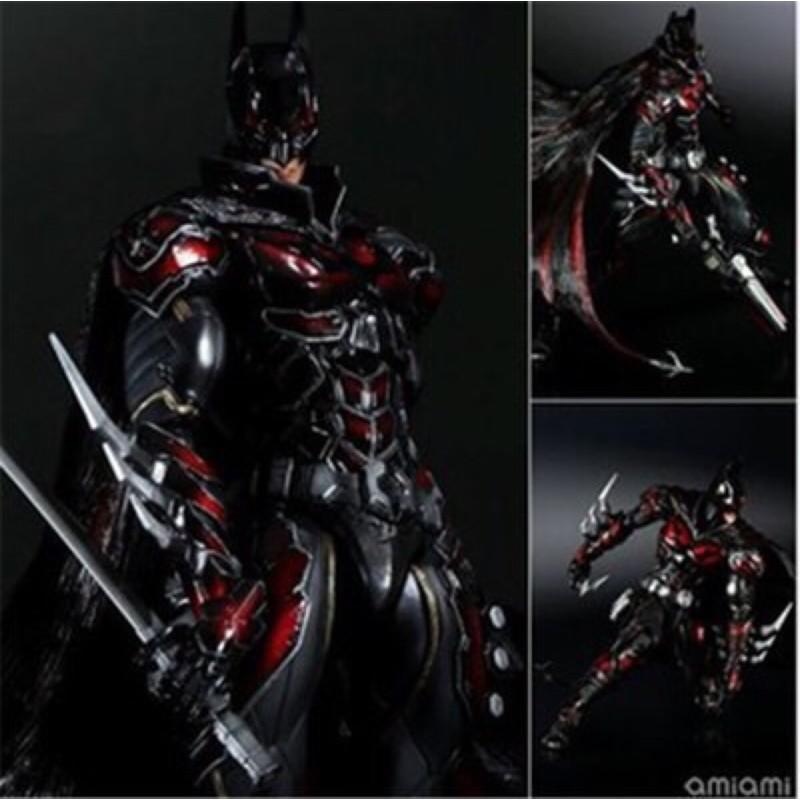 【台灣好貨】Play Arts 改 DC COMICS BATMAN 紅色限定蝙蝠俠