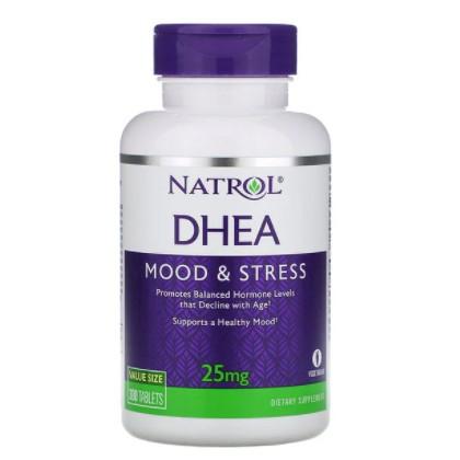 現貨【美國直送】 Natrol DHEA 25mg 300粒 脫氫表雄銅 natrol dhea 25mg 備孕試管卵巢