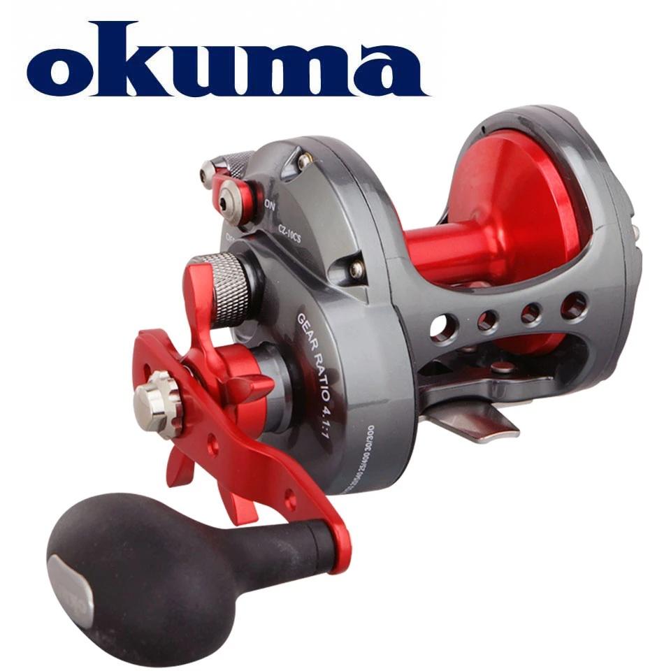 OKUMA CORTEZ Star Drag 常規卷線器 Full Carbonite Drag System 輕質耐腐
