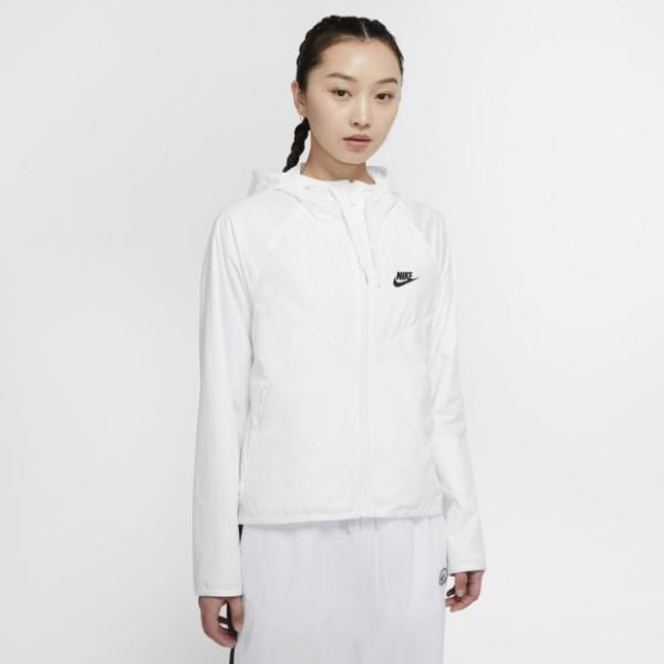 [ROSE] NIKE 女裝 外套 連帽 防風 白 BV3940-102 特價2280 20/03