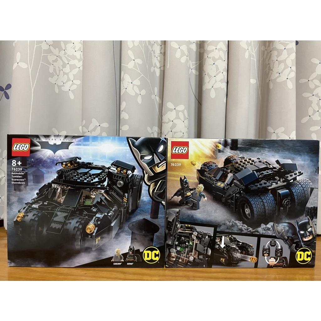 【高雄/屏東市區可面交】LEGO 樂高 76239 蝙蝠車:稻草人的最後決戰 The Tumbler