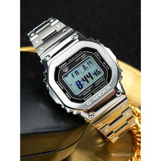 卡西歐金磚g-shock金屬小方塊手錶太陽能電波錶GMW-B5000GD-9 cSZO 高雄市