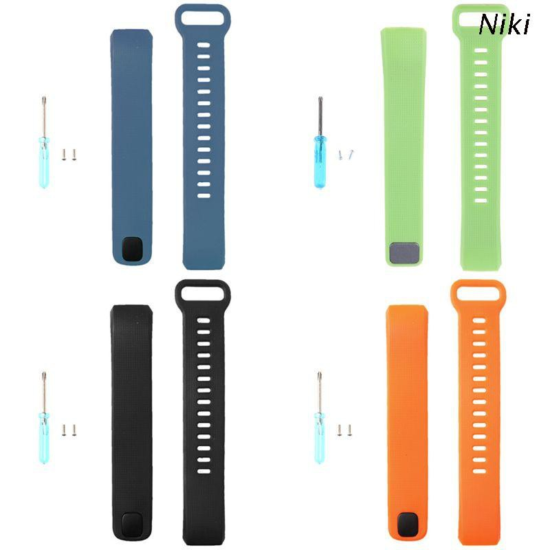 Niki 華為band2 band2 pro錶帶 智能手錶的矽膠 替換帶腕帶