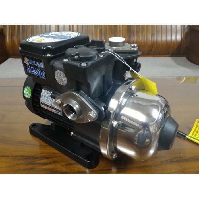 【優質五金】WALRUS HQ200 HQ200B 1/4HP電子穩壓加壓馬達*加壓機*非大井TQ200