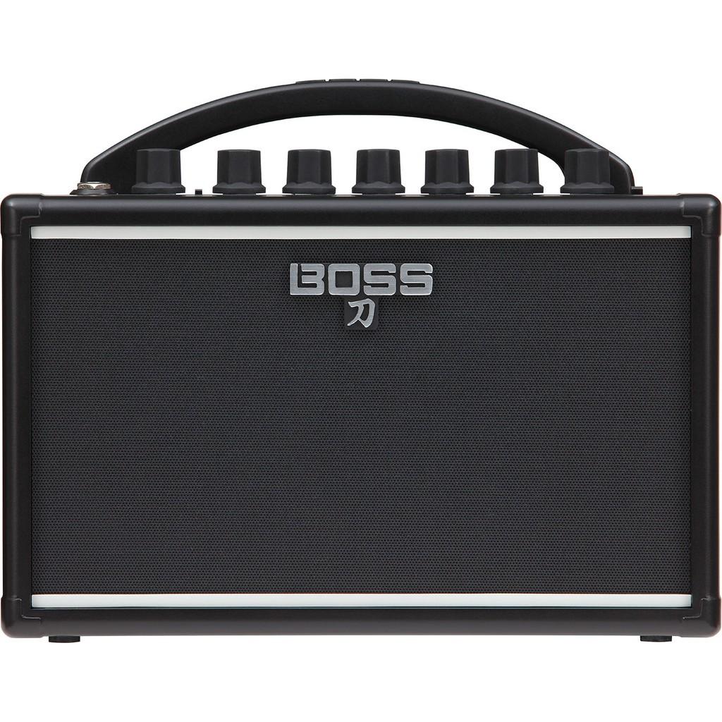 [台灣公司貨] BOSS 刀 KATANA-mini 7W 迷你音箱 電吉他 音響 便攜款 升昇樂器