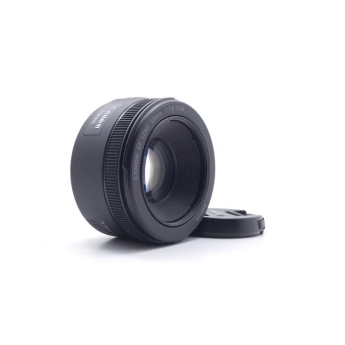 【莫比爾3C】Canon EF 50mm f1.8 STM 定焦鏡 二手鏡頭 單眼鏡頭 公司貨 #56829