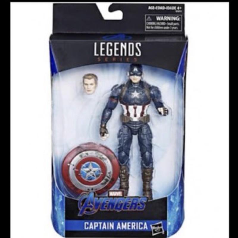 正版 Marvel Legends 6吋 漫威 傳奇人物 美國隊長 特別版 雷神之鎚 復仇者聯盟4 終局之戰