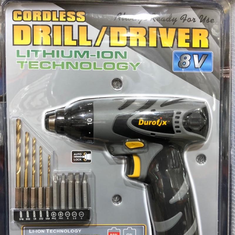 *預購* Durofix 8V 鋰電池電鑽 好市多 Costco 電動起子 DIY 車王